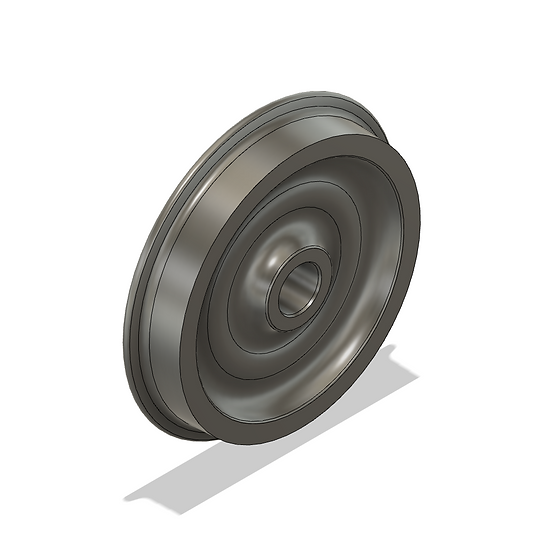 "Wheels ,1.6"" Scale, 33"" Diameter, 25 Flange"