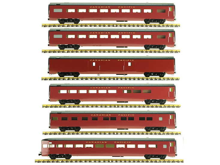 Accucraft Smooth Sided Modern Passenger Cars (6 Car Set)