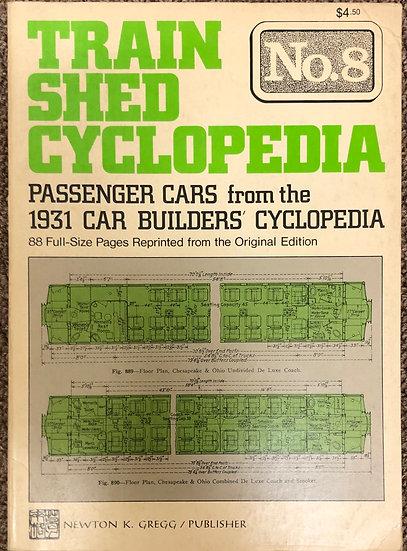 Train Shed Cyclopedia: No. 8 Paperback – January 1, 1973