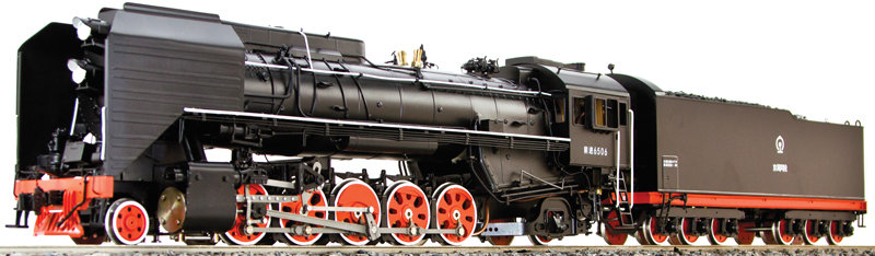 AL98-532 Chinese QJ-Class 2-10-2 #6506, Electric
