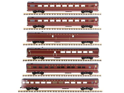 Pennsylvania, Maroon, 6 Car Set, AL34-388