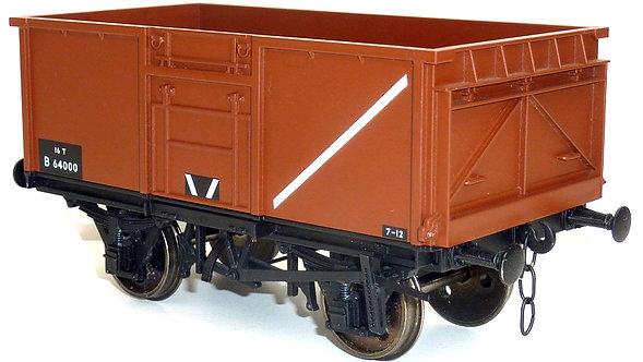 R32-2BB 16-Ton Steel Mineral Wagon #B72360 - BR Bauxite