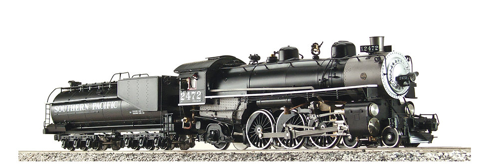 AL97-035A P-8 Southern Pacific #2467 4-6-2, Alcohol Fired