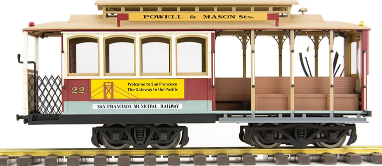 AM66-015 San Francisco Cable Car - Maroon #5