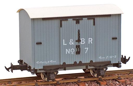 R19-2CA L&B Goods Van, L&BR Grey #3