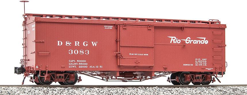 AM2201-30 Box Car - D&RGW Flying Rio Grande #3083, 1 car