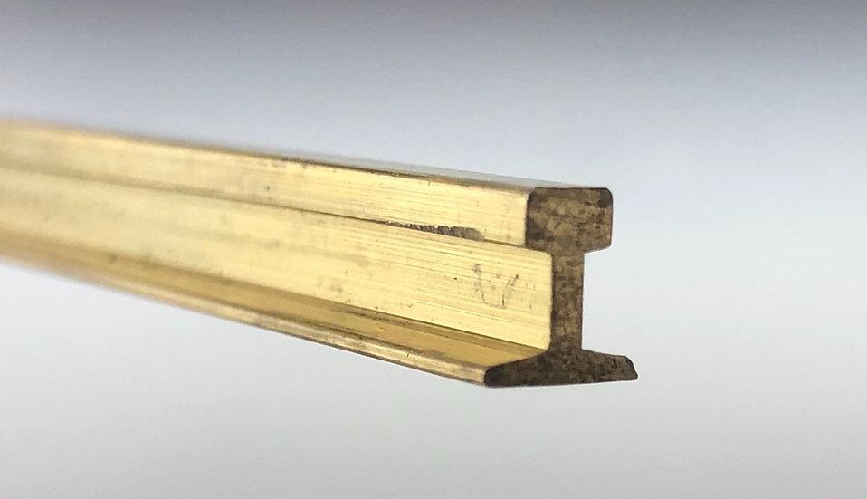 Code 332 Brass Rail, 5 ft length x 12