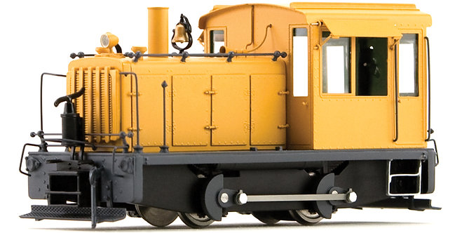 AM55-032 On3 - Diesel Switcher 0-4-0, Unlettered Yellow