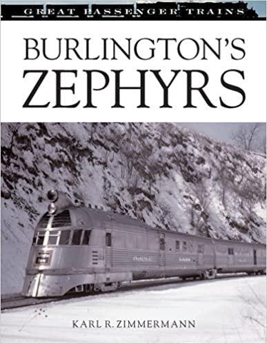 Burlington's Zephyrs (Great Passenger Trains) Hardcover