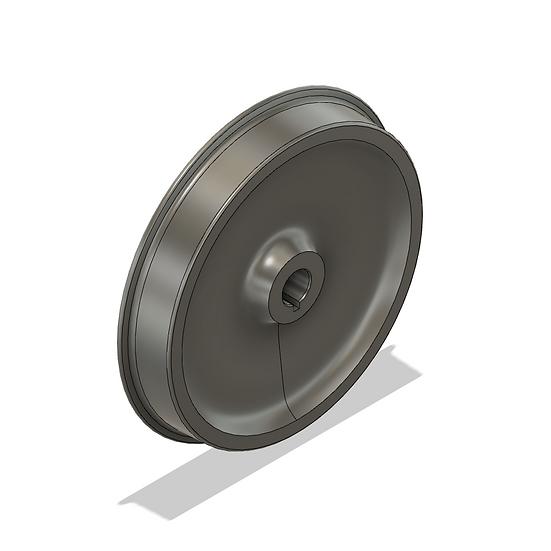 "Wheels, 2.5"" Scale, 33"" Diameter, 25 Flange"