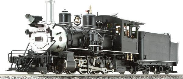 AL87-120C D&RGW C-25 Unlettered, Black, Coal Fired