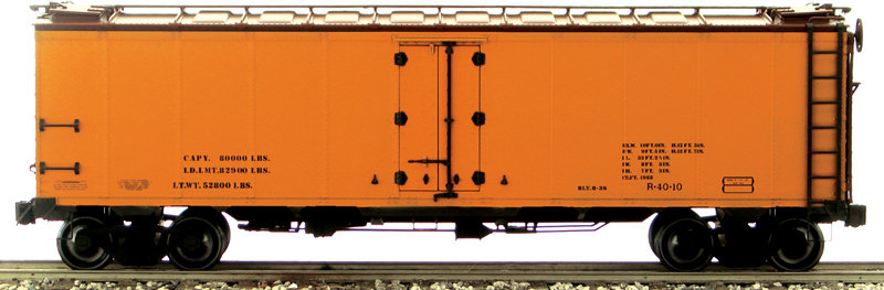 AM32-501X PFE Reefer - Data Only, 1 car