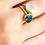 Thumbnail: KYANITE OVAL RING