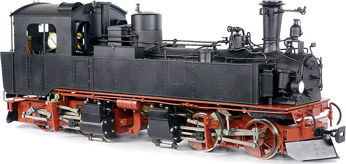 AL87-014R Saxonian IVK 0-4-4-0, Reichsbahn, Live Steam