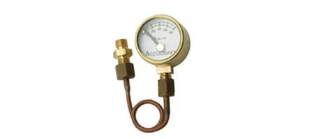 "Pressure Gauge (3/4"") kit for Ruby, Dora, etc"