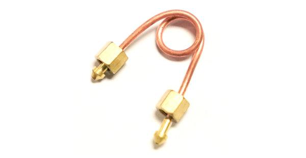 Syphon for pressure gauges