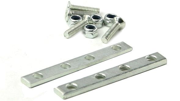 T200-44 Rail Joiner Set - 2 plates & 4 screws