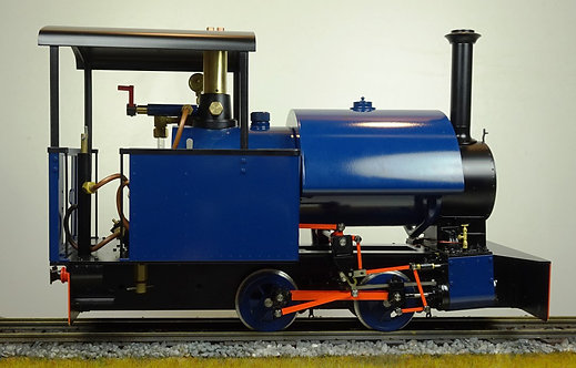 S78-3BU  Bagnall 0-4-0ST, Blue, Live Steam