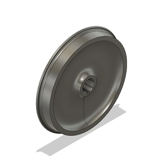 """Wheels, 1.6"""" Scale, 40"""" Diameter, IBLS Flange"""