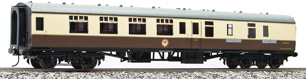 R32-11CA BR MK1 Brake Corridor (BSK) - Chocolate & Cream #W35042