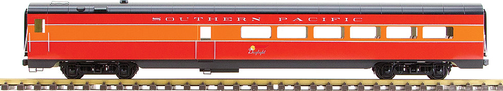 Southern Pacific, Daylight Red & Orange, Diner Car, 1 car, AL34-335