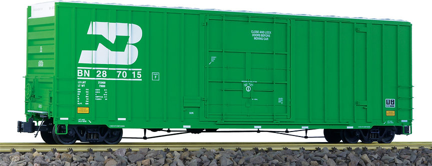 G411-05X 50' Hi-Cube Box Car - Burlington Northern Green, 1 car