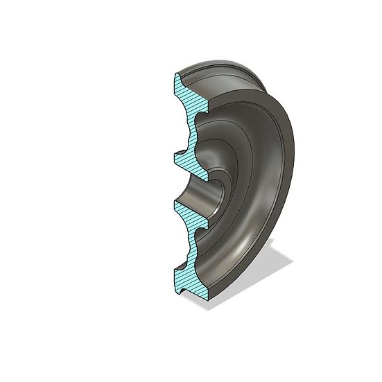 """Wheels, 1.5"""" Scale, 33"""" Diameter, IBLS Flange"""