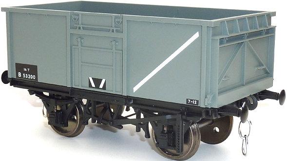 R32-2AB 16-Ton Steel Mineral Wagon #B73770 - BR Grey