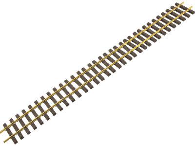 AM39-101 Code 250 5ft Flex Track - Narrow Gauge, Brass (12)