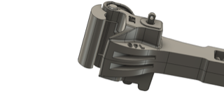 "1.6"" Scale steel coupler Knuckle"
