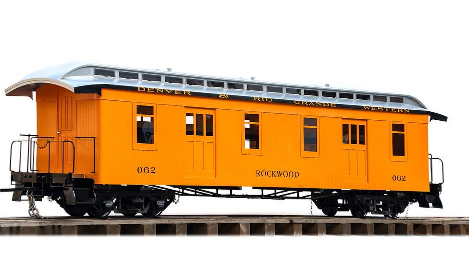 "Jackson & Sharp Baggage w/ double doors, 2.5"" Scale"