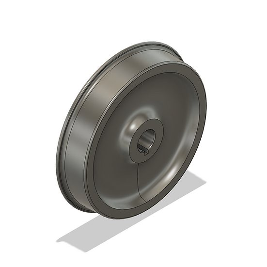 "Wheels, 2.5"" Scale, 26"" Diameter, 25 Flange"
