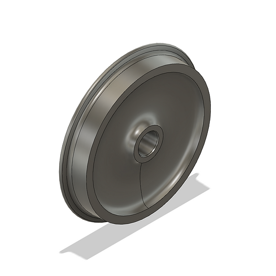 "Wheels, 1.6"" Scale, 36"" Diameter, 25 Flange"