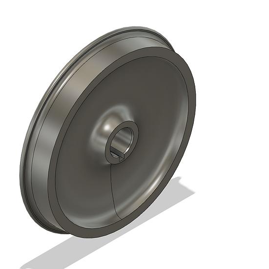 """Wheels, 1.5"""" Scale, 40"""" Diameter, IBLS Flange"""