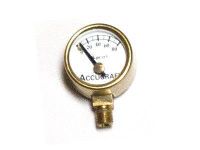 Pressure Gauge Kit - 1:20.3 Ruby - Pressure Gauge + Syphon + Adapter