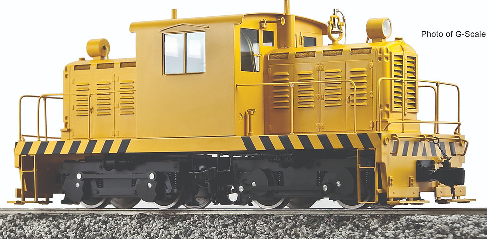 """Accucraft Ride-On - Whitcomb 45T Center Cab. (2.5"""" Scale)"""