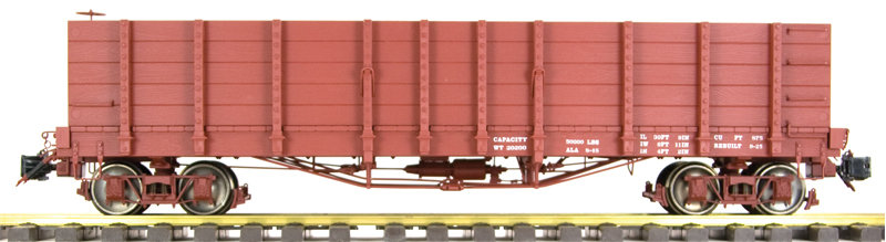 AM2202-10 High Side Gondola - Data Only, 1 car