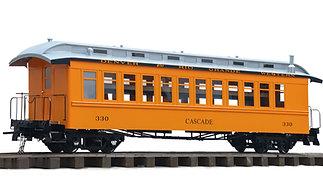 "Accucraft Ride-On - Jackson & Sharp Coach, 2.5"" Scale"