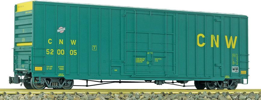 G411-11X 50' Hi-Cube Box Car - Chicago & North Western, Green, 1 car