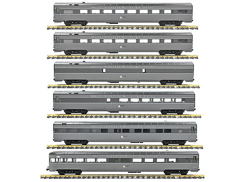 Southern Pacific, Lark Gray, 6 Car Set, AL34-382