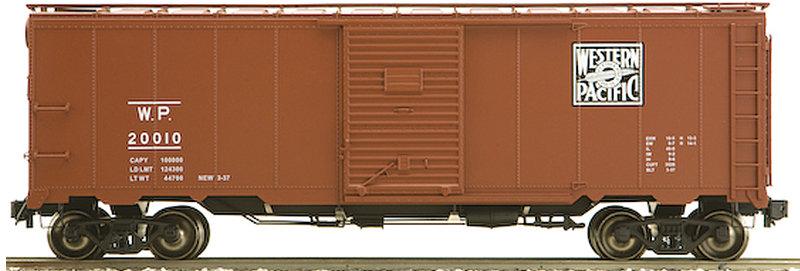 AM32-555X AAR Box Car - WP Western Pacific, 1 car