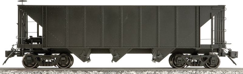 AM20-301X 3-Bay Hopper - Unlettered, Black, 1 car