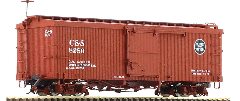 AM52-0143X On3 Box Car - C&S Colorado and Southern, 1 car