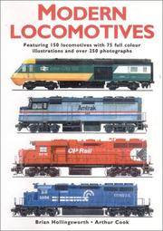 Modern Locomotives By Hollingsworth, Brian And Arthur Cook