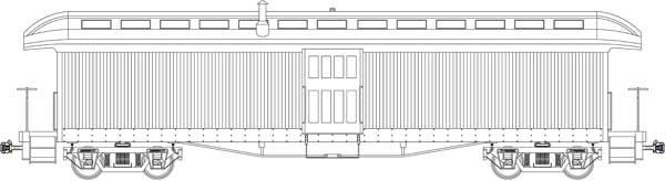 "Jackson & Sharp Baggage, 2.5"" Scale"