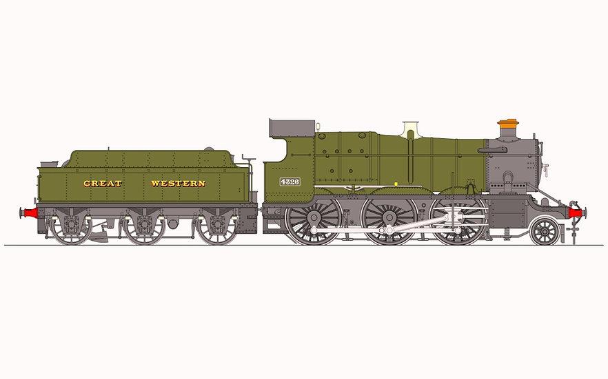 Accucraft UK - GWR 43XX Live Steam 2-6-0 (1:32)