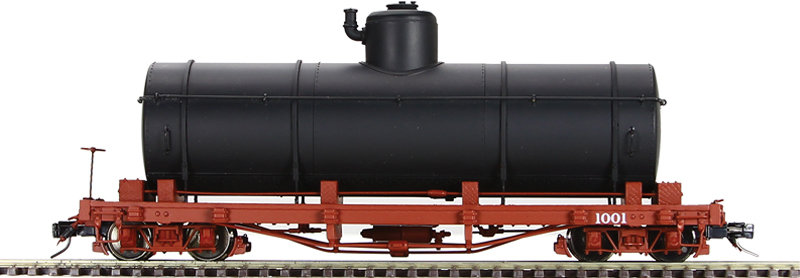 AM52-046X On30 Tank Car - N.C.N.G. Black, 1 car