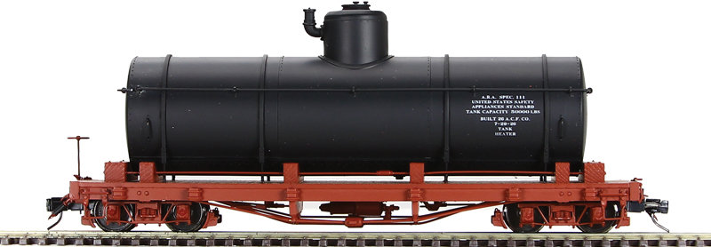 AM52-0473A On3 Tank Car - Data Only, Black