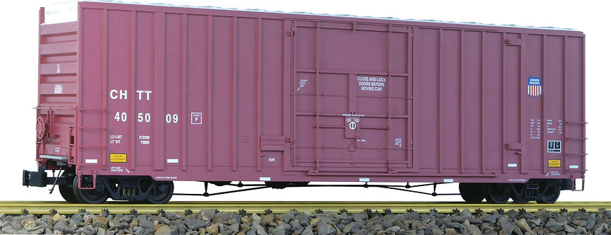 G411-06X 50' Hi-Cube Box Car - Union Pacific Brown, 1 car