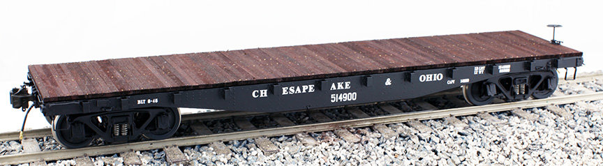 Fine Art Models - 1:32 Flat Car with Archor Load